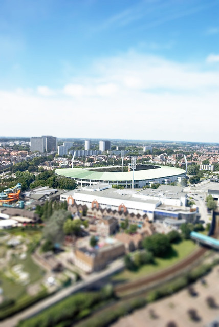 Bruxelles - Fake Tilt Shift