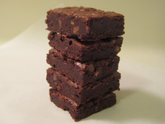 Low Fat Fudgy Brownies