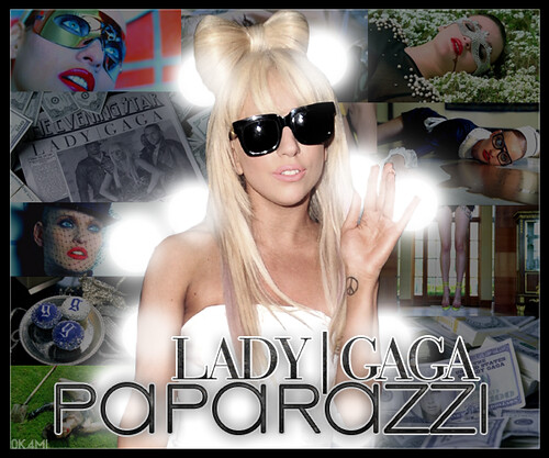 Lady Gaga- Paparazzi Blend von 0k4mi.
