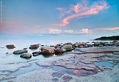 Pink and light blue (Rob Orthen) Tags: longexposure sea sky rock suomi finland landscape nikon europe scenic rob tokina explore 09 scandinavia polarizer frontpage meri maisema vesi archipelago kes pinta d300 gnd 1116 nohdr orthen leefilters roborthenphotography tokina1116 tokina1116mm28 seafinland