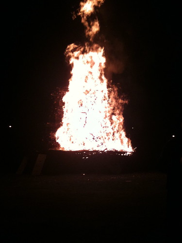Eleventh Night Bonfire