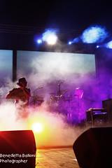 Ignore The Smoke and Smile.. (BeneB86) Tags: music live stage performance concerto le musica backstage concerti attesa aspettando dietro quinte liga ponticelli treallegriragazzimorti rockforlife canon450d bblast coverbandligabue frankyhinrgmc perugiaritratti