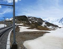 Gornergratbahn - Rotenboden (fede_gen88) Tags: snow mountains clouds schweiz switzerland europe suisse railway glacier gornergrat getty zermatt peaks svizzera gettyimages ggb rackrailway matterhorngotthardbahn gornergratbahn kantonwallis cantonduvalais cantonvallese ferroviadelgornergrat