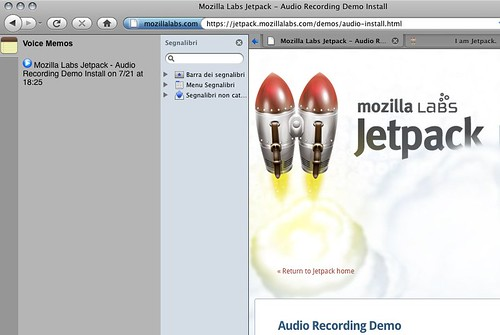 jetpack 0.4 audiorec demo slidebar file audio