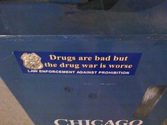 Drugs are bad but the drug war is worse.