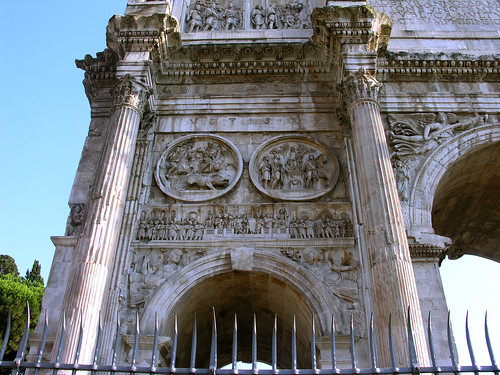 The Arch of Constantine (detail)