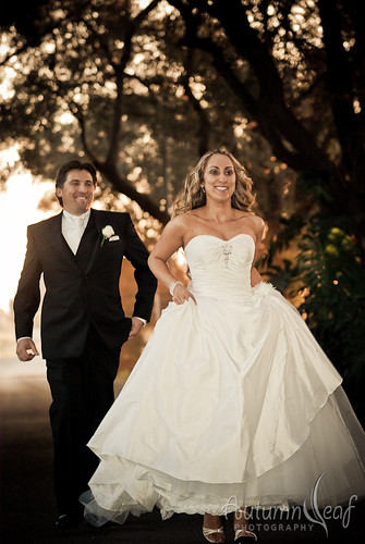 Mandi and Pierre - Groom chasing after run away bride
