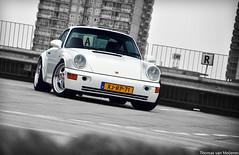 Porsche 964 (Thomas van Meijeren) Tags: white rotterdam shoot foto photoshoot 911 august turbo porsche rs 964 fotoshoot woonmall alexandrium