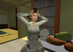 A usual housewife 06 (Raizo Karas) Tags: avatar sl secondlife catnip miu littlebird totalbetty raizokaras japanesehousewife