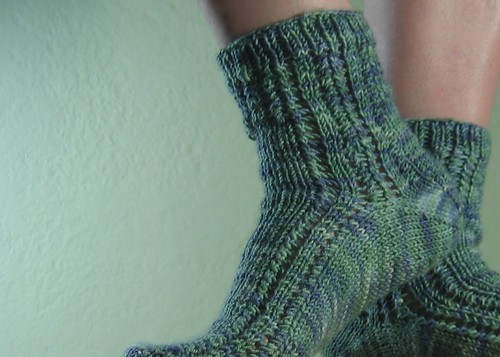 Cotty sock cuffs