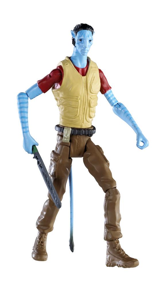 Avatar juguete muñeco de Norm Spellman navi