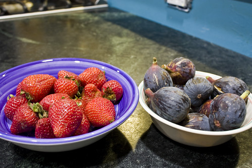Strawberries and Figs
