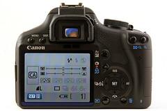 Canon T1i 500D - Creative Auto Mode