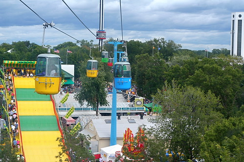 Giant Slide from the Sky Ride