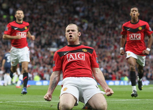 Wayne Rooney Football Soccer Premier League Champions Leagu