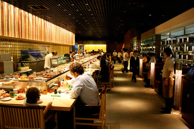 Sushi Tei has moved to bigger premises at Paragon