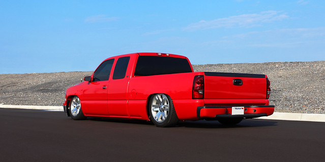 chevrolet silverado lowered slammed airbags bagged airride 9906chevy