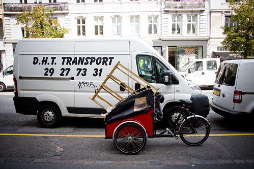 Two Ways of Transporting Things