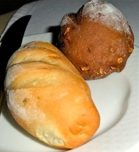 Pesto Bread and Walnut Bread