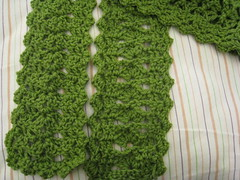 easy shell scarf