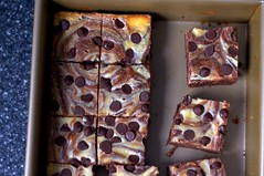 Cheesecake Marbled Brownies