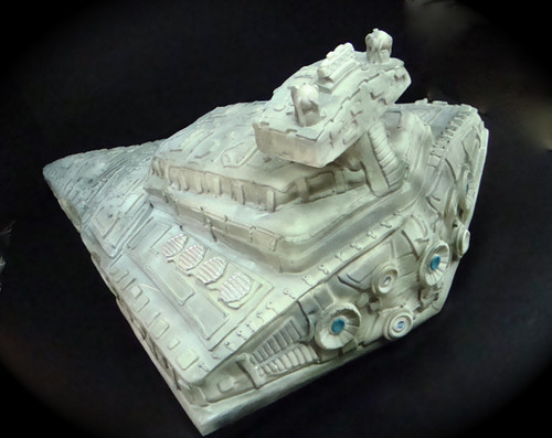 star destroyer cake back