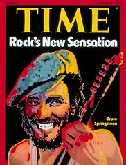 Bruce Springsteen en Time Magazine 27 oct 1975