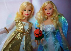 barbie  halloween  angels (napudollworld) Tags: girls halloween fashion witch ghost barbie scene characters fever