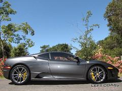2009 Ferrari 430 Scuderia (Left Coast Classics & Exotics) Tags: speed silver forsale fast f1 ferrari exotic 2009 scuderia f430 430 leftcoastexotics grigiosilverstone