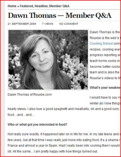 Dawn Thomas | Co-founder of Rouxbe Video Technologies