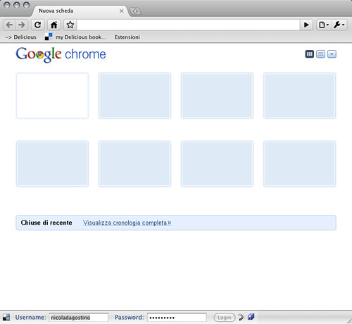 Mac Chrome 4.0.212.1