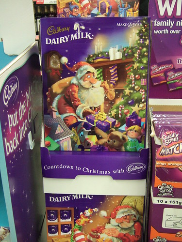 Advent calendar for sale in September
