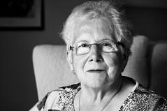 Grandma (Gordon Fischmann) Tags: old grandma woman canon silver 50mm grandmother nik سكس 40d efexpro