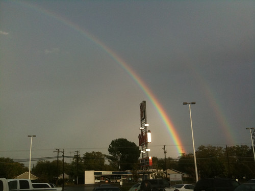 Aftermath: Double rainbows are okay if you're into that kind of thing.