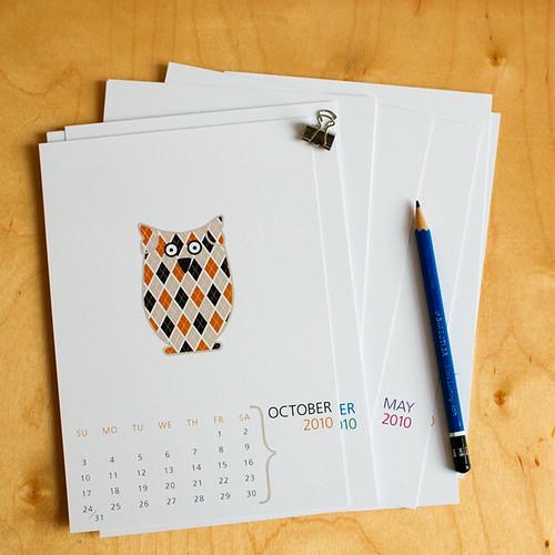 2010 Calendar - October Owl