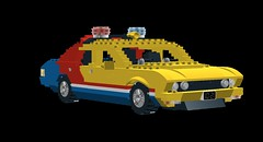 Ford Falcon XB Police Pursuit 'Mad Max' LDD