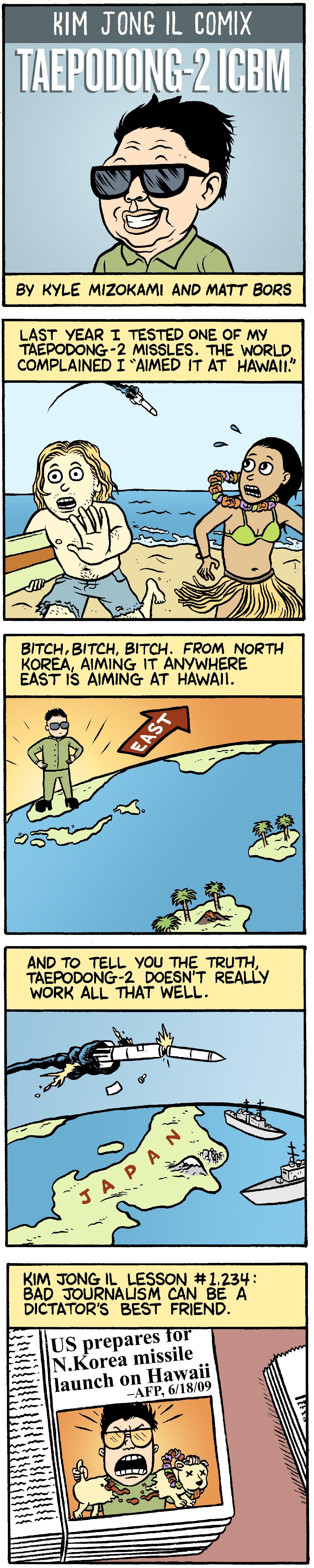 Kim Jong Il Comix #3