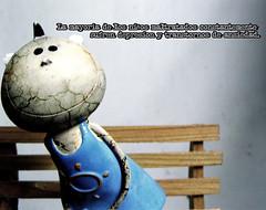 maltrato 3 tarea foto digital (carlosgr.dg) Tags: digital photoshop mexico tristeza photo madera foto triste adobe infantil veracruz niño banca maltrato cs3 tarea maltratoinfantil mueco