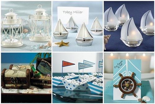 Nautical Wedding Decorations