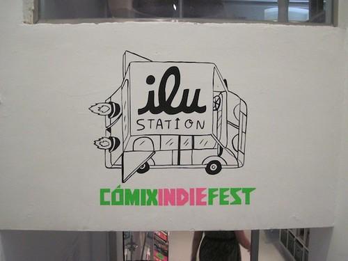 Ilu·Station Indie Comix Fest