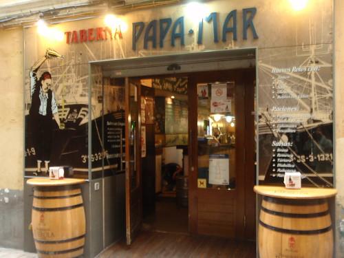 Zaragoza | Papa-Mar | Entrada