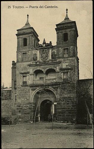 Puerta del Cambrón. Foto H.A.E. 1927