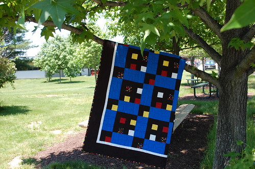 Ilka's first quilt