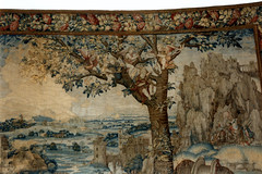 Pittsburgh, Frick Art Museum, tapestry, detail (groenling) Tags: tree pittsburgh pennsylvania clayton violin singer fiddle lute tapestry frickartmuseum shawm pointbreeze frickarthistoricalcenter mmiia