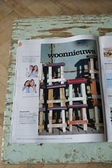 101 woonideen januari 2009 (wood & wool stool) Tags: wood wool handmade stool press publication krukje sloophout woodwoolstool 101woonideeen