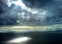 somewhere may be our heaven... (animadm) Tags: sea sky rio clouds greece patras darksea deepbluesea skyandsea withsky goldsealofquality birthinspring
