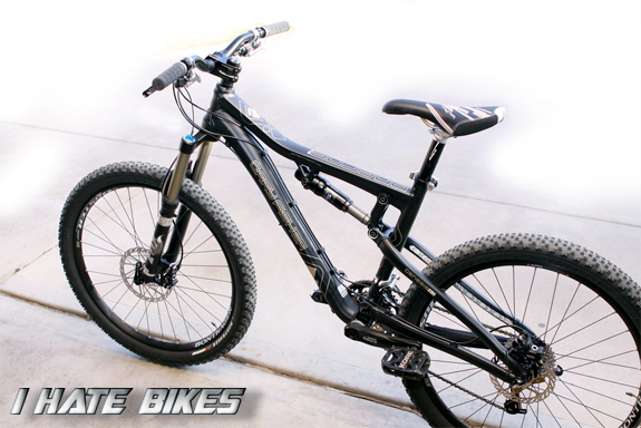 One of our new Fisher Roscoe III Trail bikes, modified for getting rad
