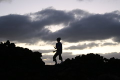 Dancing on the rocks (Night.Prowler) Tags: sunset holiday sand rocks warm surf warmth sunny lanzarote