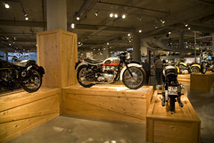 Triumph at Barber (hz536n/George Thomas) Tags: fall alabama motorcycle canon5d 2008 cs3 barbermotorsportsmuseum