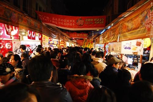 夜巡迪化街